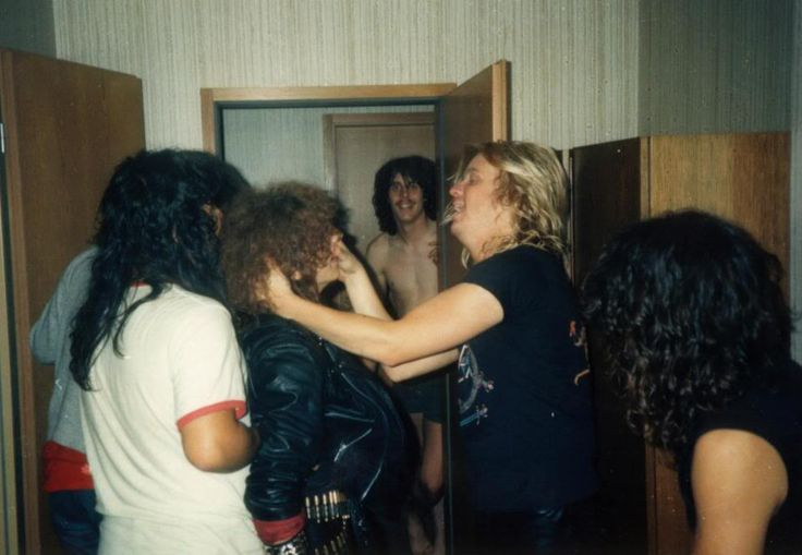 metal Slayer Dave Lombardo Jeff Hanneman Kerry King Tom Araya Destruction band john araya