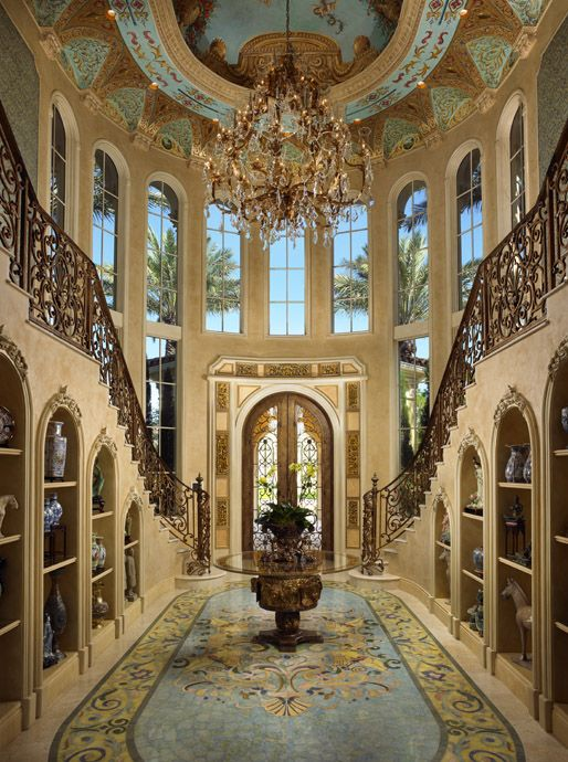 495 best images about the stairs and foyer. on pinterest ...