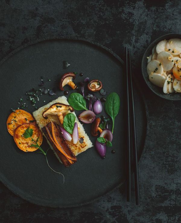 Asian Fall Vegetables is a delicious gluten-free recipe by talented photographers & kitchen wizards Susann and Yannik of the stylish recipe blog Kraut-kopf.