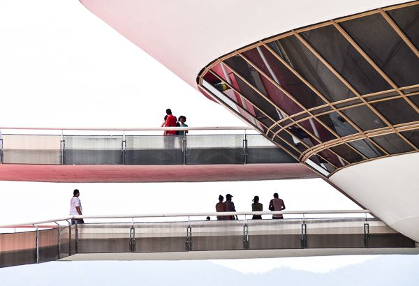Want to see a real UFO made by an alien? Go see the MAC in Niteroi outside of Rio.