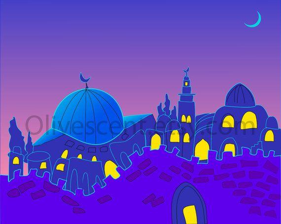Alquds at night