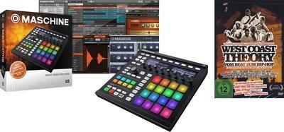 /** Priceshoppers.fr **/ Native Instruments Maschine MK2 Black DVD Set