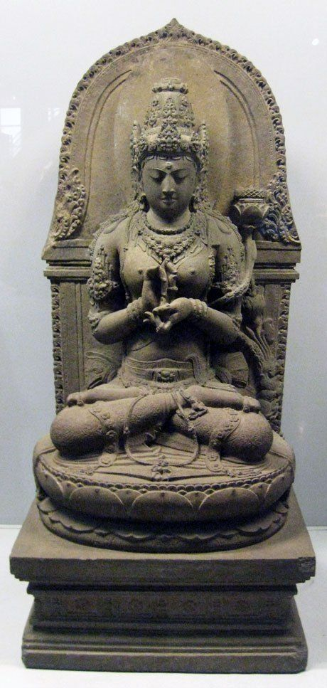 The word Prajñāpāramitā combines the Sanskrit words prajñā (wisdom) with pāramitā (perfection)