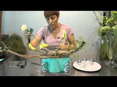 Trabajo floral: Invierno Cálido - YouTube