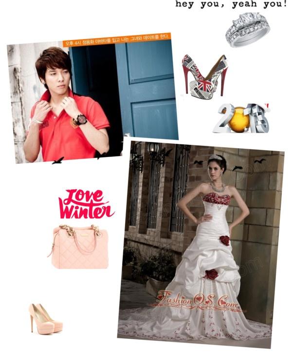 """Graceful Wedding Dress A-line Sweetheart Embroidery Hand Made Flowers Chapel Train Taffeta"" by fancydressesforyou ❤ liked on Polyvore"