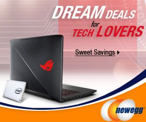 DREAM DEALS FOR TECH LOVERS! Find Sweet Savings at Newegg.ca