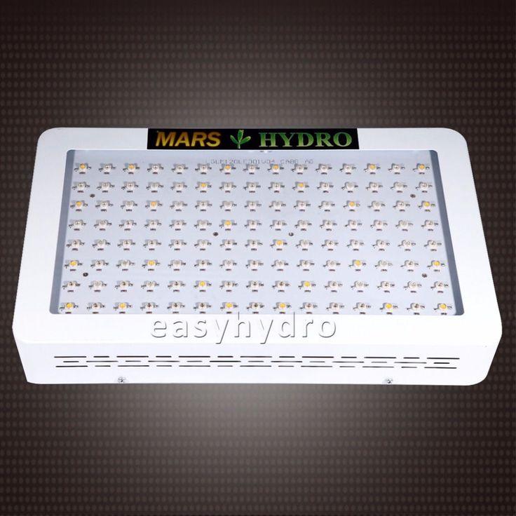 Marshydro 300/600 w volledige spectrum led kweeklampen, Indoor Plant Lamp Veg Bloem Licht Groeien, Hydrocultuur systeem