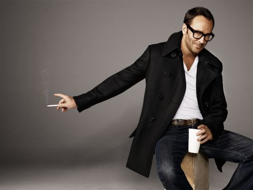Tom ford.  My favourite designer and one of the most stylish men on the planet.