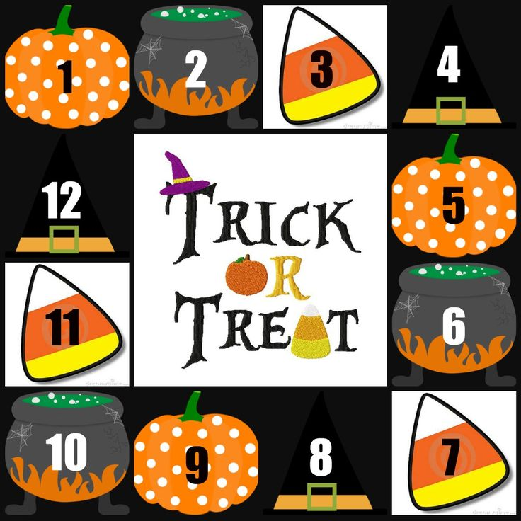 """""""Trick or Treat"""" for Halloween/Fall time! You pick different prizes for each number, and have your guests at party, or Facebook friends pick a number to receive the prize. Some are """"Tricks"""" which require an order to receive the prize (% off an item, $ off their order, Free shipping etc.). """"Treat"""" included a free goody bag or a free product from your stash. https://www.mythirtyone.com/AshRigsby"""