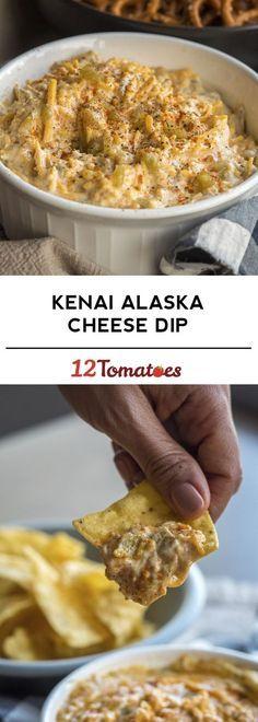 Kenai Alaska Cheese Dip
