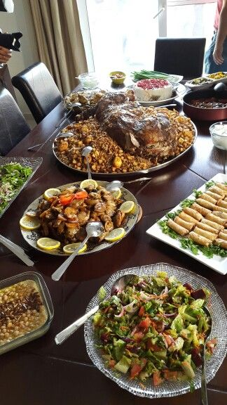 Iraqi food it's all about gathering &sharing .