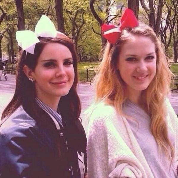 Lana Del Rey and sister Chuck Grant #LDR