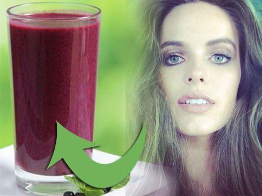 Model #robynlawley  verrät ihren Schönheitstrunk! Das cremige Getränk ist 100 % #vegan und 100 % lecker! #Rezept hier: http://www.shape.de/diaet-und-ernaehrung/rezepte/a-59527/das-steckt-in-robyn-lawleys-veganem-smoothie.html