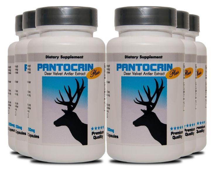 Deer Antler Velvet Extract - PANTOCRIN POWER - Muscular and Sexual Strength 6B #HealthSolution