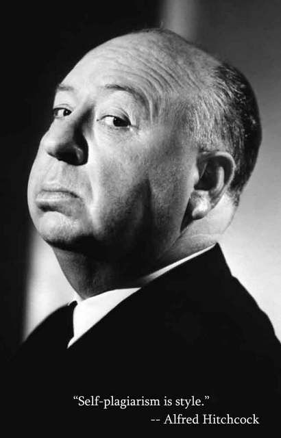 Alfred Hitchcock Style Quote Portrait Poster 11x17