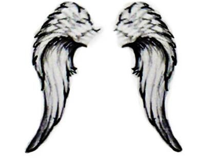 With my Mother's name between the Wings...