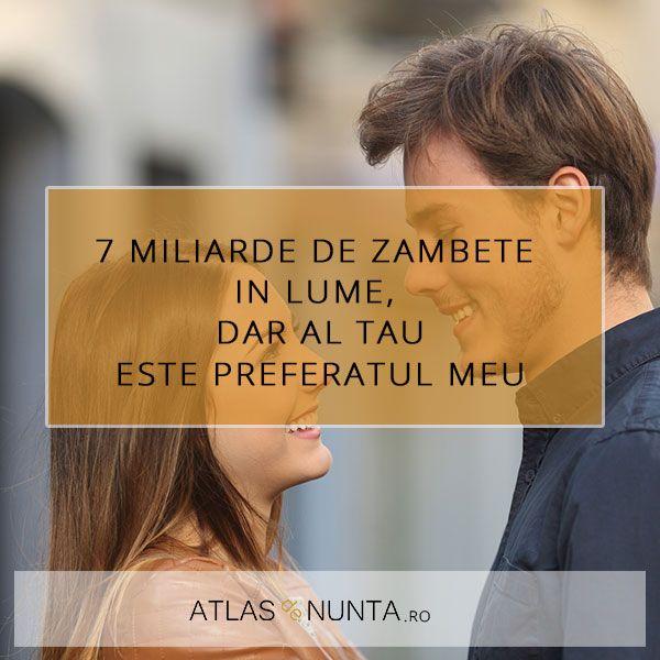 7 miliarde de #zambete in lume, dar al tau este preferatul meu. #truelove www.atlasdenunta.ro