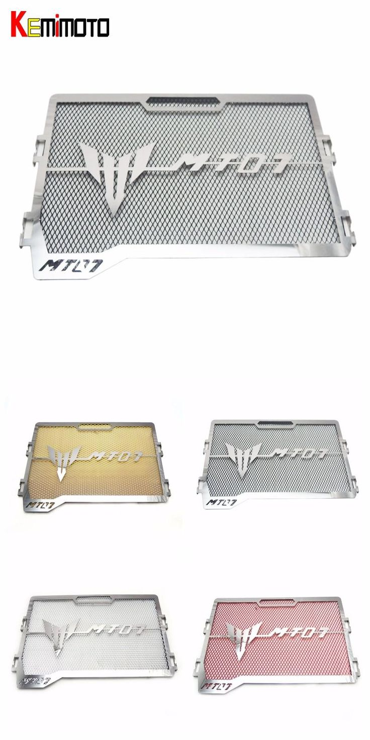 [Visit to Buy] KEMiMOTO For Yamaha MT-07 MT 07 FZ-07 FZ 07 Radiator Grille Guard Cover Protector For Yamaha MT07 FZ07 2014 2015 2016 2017 #Advertisement