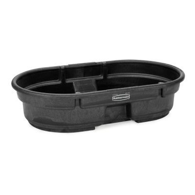 For Potatoes ~Stock Tank | Brand : Rubbermaid | Product Width : 31 in. | Product Length : 52 in. | P $70Product Height : 12 in. | Drain : Yes | Warranty : 1-Year Limited RUBBERMAID STRUCTURAL FOAM STOCK TANKS, 50 GAL. CAPACITY