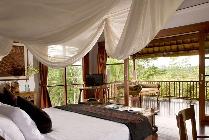 Tenganan house bedroom at Villa Bayad Ubud Bali