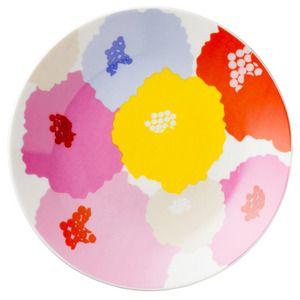 Dahlia Ceramic Pie Plate