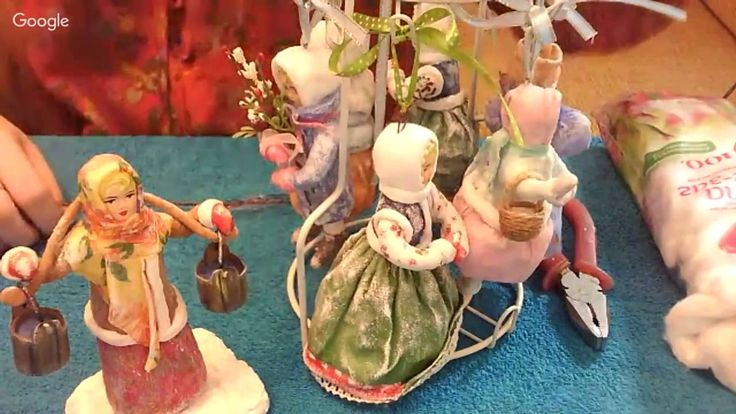 Ватные куклы Елена Васько