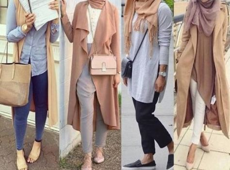 Top Les 25 meilleures idées de la catégorie Tenues avec hijab sur  ZD36