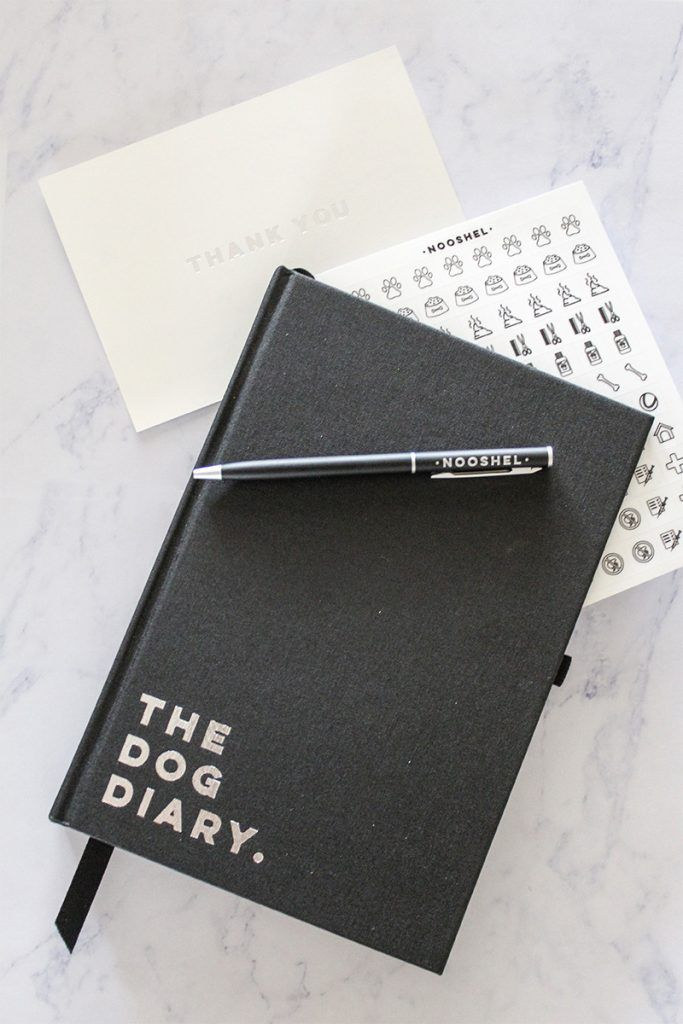 Product Review: The Nooshel Dog Diary.