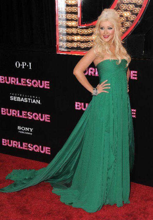 Christina Aguilera: ELIE SAAB  READY-TO-WEAR  FALL-WINTER 2008-2009
