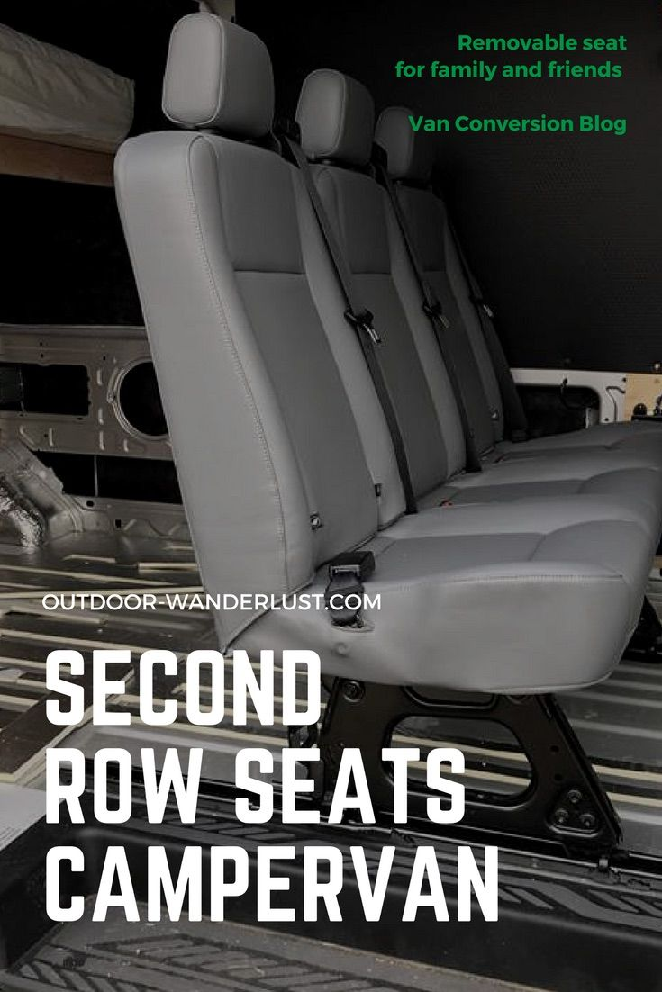 Van Conversion Installing 2nd Row Bench Seat In Ford Transit Transitional Decor Ford Transit Seating
