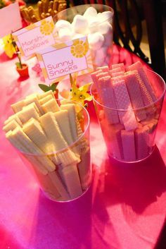 You are my sunshine birthday party snacks!  See more party planning ideas at CatchMyParty.com!