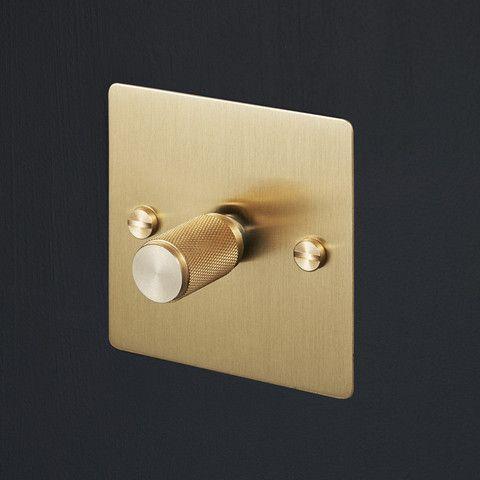 Light Switches - Brass - busterandpunch