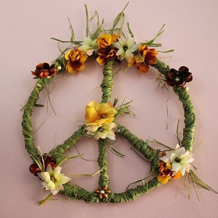 Hey, I found this really awesome Etsy listing at http://www.etsy.com/listing/171877631/peace-sign-peace-wreath-peace-flower