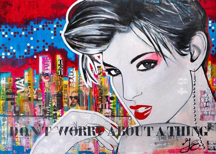 Luxe kunstkaarten verkrijgbaar in mijn webshop. http://shop.janetedens.nl