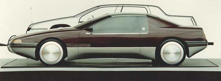 OG |Cadillac Modular Eldorado | Scale mock-up designed by David McIntosh at GM Advanced Design Two