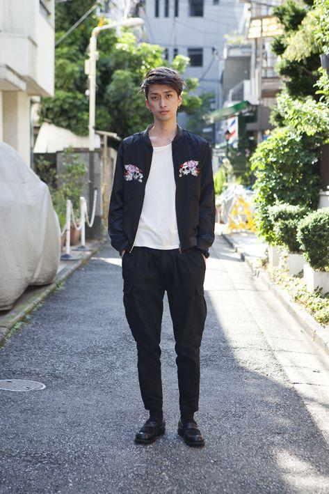 TOKYO model-Yu-ki/outer-CHRISTIAN DADA/tops-CHRISTIAN DADA/bottoms-CHRISTIAN DADA/accessories-CHRISTIAN DADA/shoes-DISCOVERED