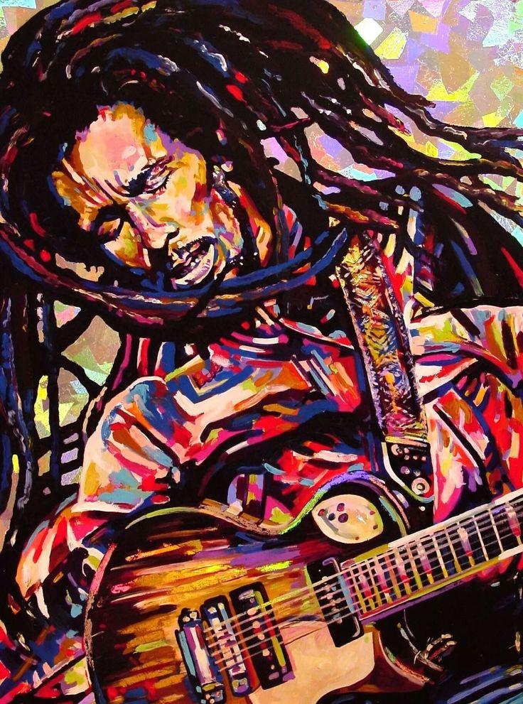 Bob Marley: Playing Strings