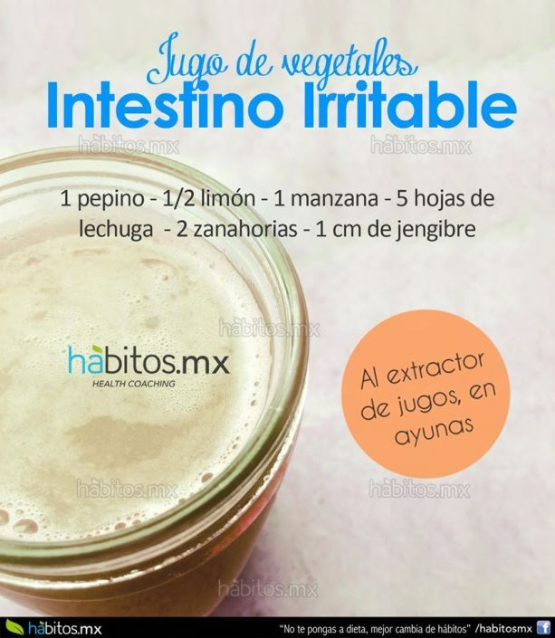 JUGO VERDE -INTESTINO IRRITABLE-