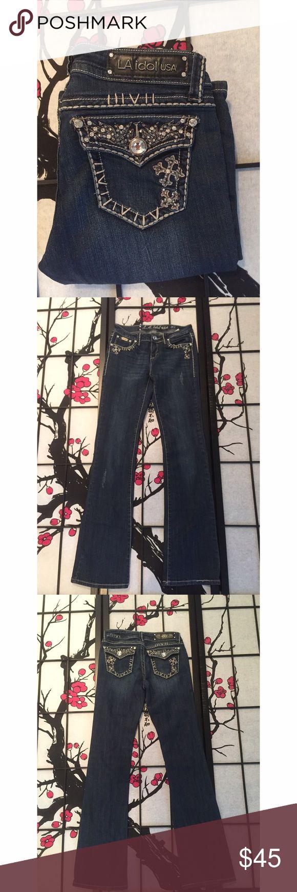 LA Idol Bling Bootcut Jeans - Best 25+ La Idol Jeans Ideas On Pinterest Bling Jeans, Miss Me