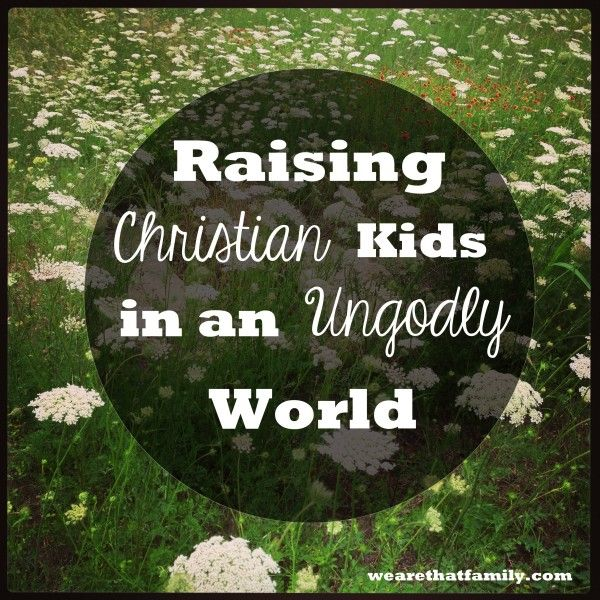 Raising Christian Kids in an Ungodly World — We are THAT Family
