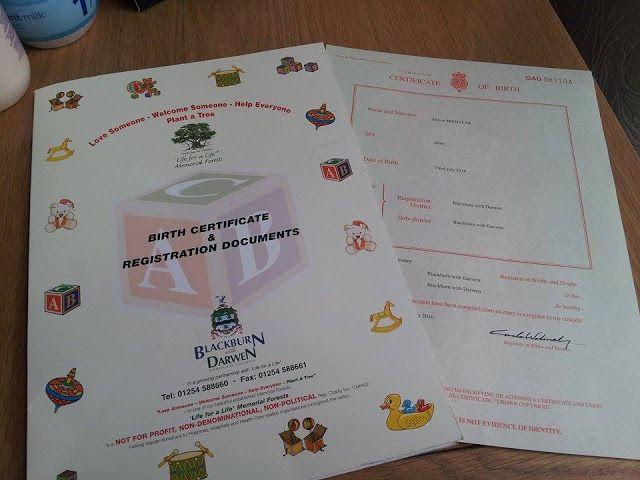 Asica w UK, czyli moj LIFE STYLE za granica : Angielski akt urodzenia - rejestracja dziecka