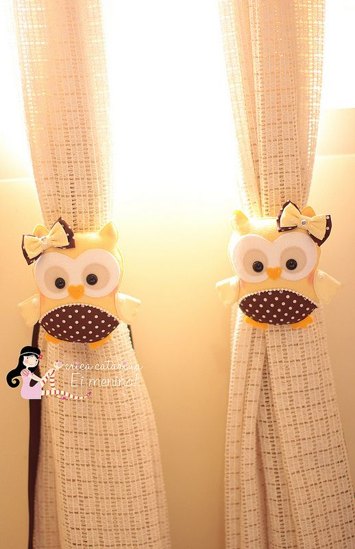 Corujices da Maria Eduarda ♥ I would use these cute owls in my nail room when my house it's finished!! Que bellos <3