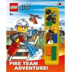 Buy LEGO CITY: Fire Team Adventure! Storybook with Minifigures and Accessories from our Picture Books: Character Books range - Tesco.com