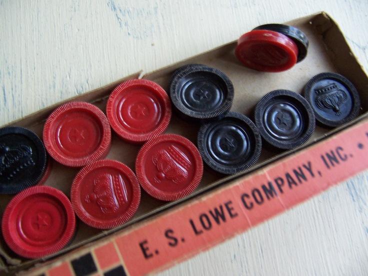 vintage checkers...still have them.