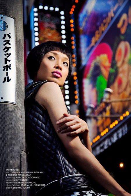 Fryzury - Japan Chic od Trendy fryzjerskie