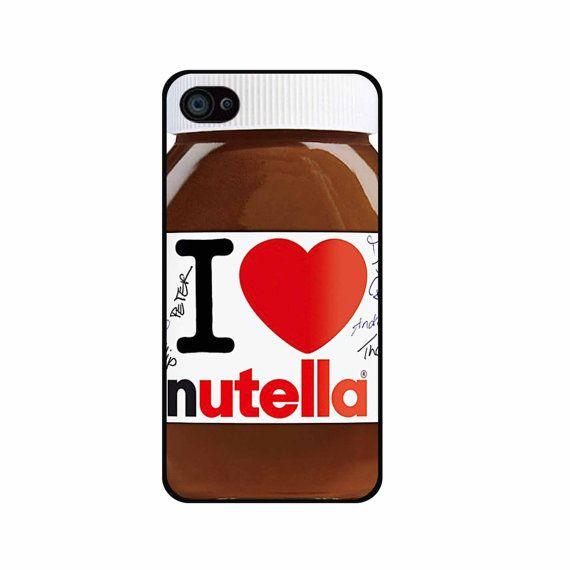 J'aime Nutella iPhone 4 iPhone cas 5 / 5 s / c 5 ipod par BESTBOX