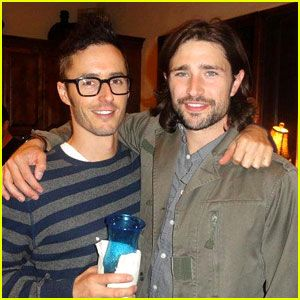 Matt Dallas Comes Out as Gay Man, Engaged to Blue Hamilton!  get our app https://play.google.com/store/apps/details?id=com.wgaydatingtips