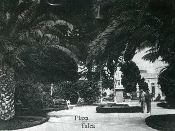 Plaza de Armas de Talca. Ca. 1920