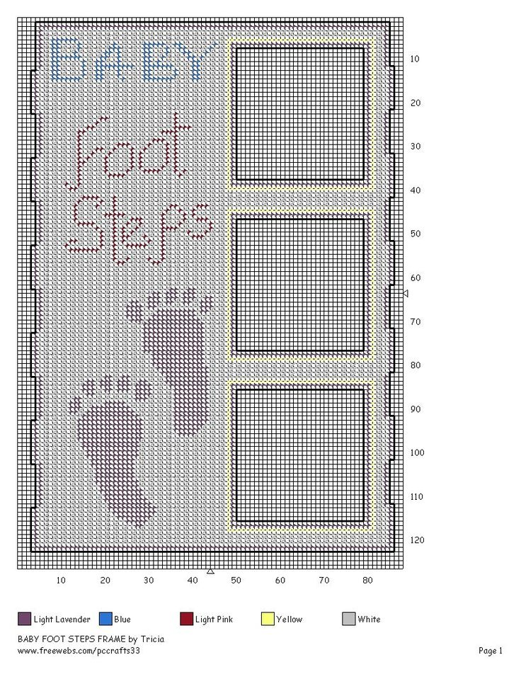 PICTURE FRAME - BABY FOOTSTEPS