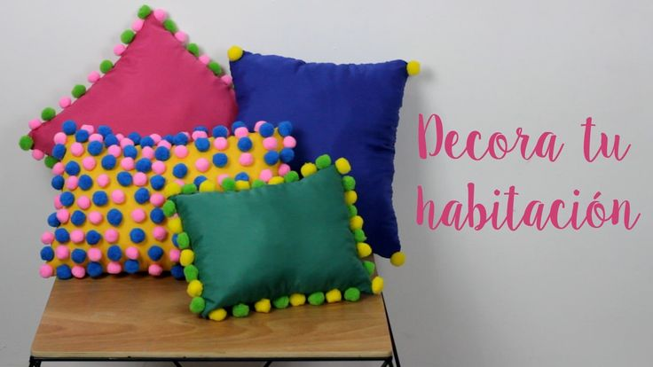 39 best ideas for decorative pillows images on pinterest - Como hacer cojines para sofas ...